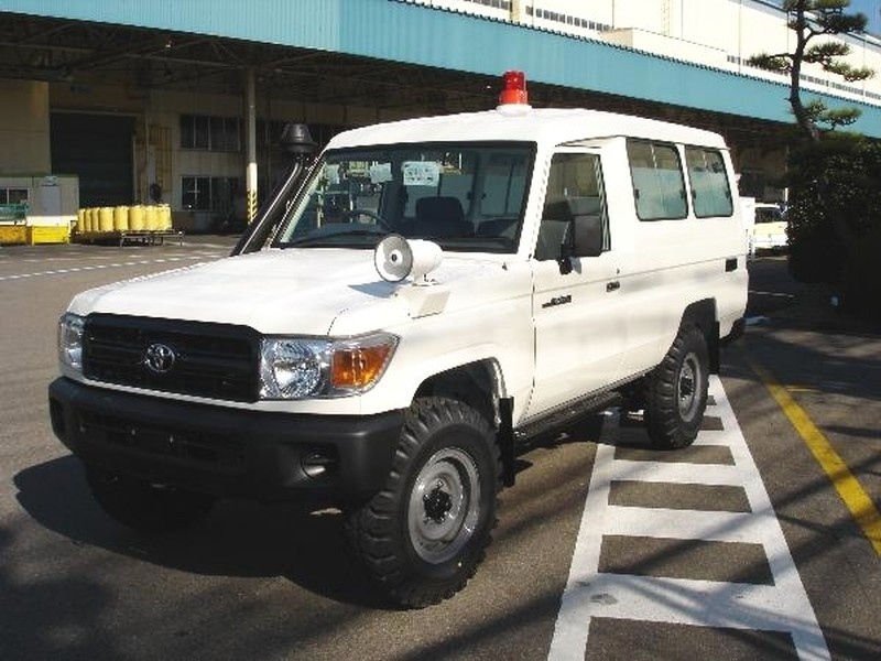 Toyota ambulance fuer Machame